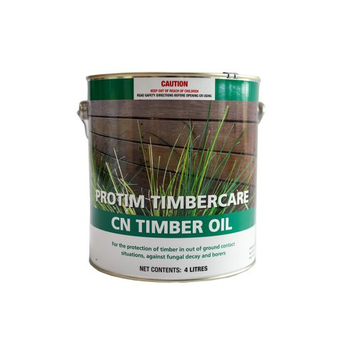 CN Timber Oil is a heavy duty general purpose preservative for hardwoods & softwoods to protect against fungal decay and wood borers. Good for use on Fences, landscaping, wharves, bridges, engineered structures.